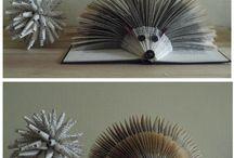 Book sculptures