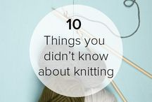 Knitting Nostalgia / This board is about interesting facts about knitting!