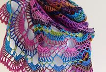 CROCHET SHAWLS-PONCHOS-WRAPS AND SRUGS
