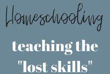 Life Skills / Life skills for homeschoolers!