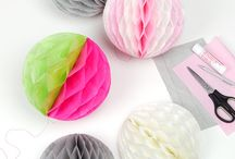Pom Pom and Tissue Flower Crafts / by Cathie Filian