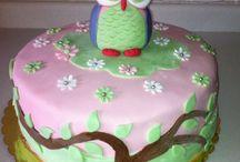 Owl cake