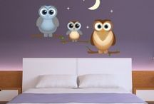 Kid's Room / Cute decals and wall tattoos for the little love of your life. Perfect for both boys and girls, kids room, play room or nursery.