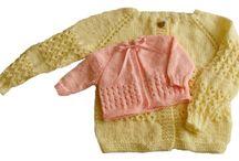 Tejiendo: chaqueta bebé
