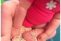 Aktivity pro miminka / Nápady na hraní a doma vyrobené hračky pro miminko a děti do jednoho roku