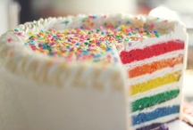 COLORFUL CAKES / by Betty Clark