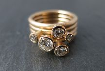 Stacking Rings / Designed and made by me
