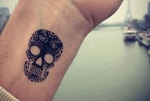 tattoo calavera / by Alejo cococo