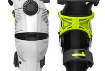 Mobius Knee & Wrist Braces - worn and tested by Ryan Villopoto and Ryan Dungey. / Slipped on rather than strapped on, the innovative X8 is held in place by a continuous cable and backing plate system that wraps around the leg and provides natural but firm support.