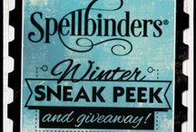 Spellbinders Winter 2015 Sneak Peek / Spellbinders newest product reveals 12/1/14-12/5/14 / by Spellbinders