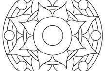 moldes mandalas