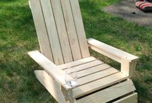 Furniture and outdoor furniture ideas.
