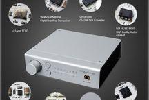 Les Convertisseurs DAC / Un DAC audio (Digital / Analog Converter) est conçu pour convertir le signal de vos sources audio numériques en analogique, exploitable sur n'importe quelle chaîne Hifi ou système d'enceintes.