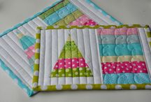 Quilted / Mug Rugs / by Aunt Pitty Pat