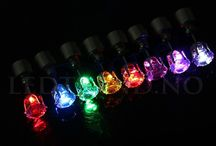 Øreringer med LED-lys