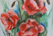 Flori / Watercolor flowers
