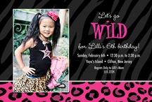 Go Wild-Kaylee's 6th Birthday??? / by Kendy Kovalik