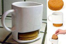 We Love Coffee {Mugs} / Coffee is divine. It needs a cool mug.