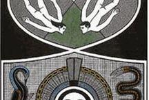Gilvan Samico / Brasilian artist (1928-2013) Nascido na capital pernambucana, Gilvan José Meira Lins Samico era o penúltimo de seis filhos de um casal de classe média do bairro de Afogados. Na adolescência, depois de dois empregos frustrados, o pai percebeu a aptidão do filho para a ilustração e o levou ao professor, pintor e arquiteto Hélio Feijó