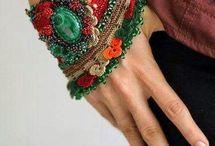 pulseras arabes tejidas