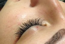 Eyelash extensions / A mix of 10's and 12's c-curl