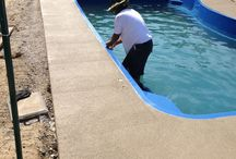 Fiberglass Pool Install 51 / Watch as Artistic Pools installs a Fiberglass Pool project in just about live feed. We will update pictures of your project on the hour so you can see the results in real time. Hope you enjoy!