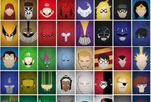 Superhero's and villains