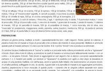 """Cucina da """"PrimaPaginaWeb.it"""" / tutte le ricette pubblicate negli ultimi 5 anni"""