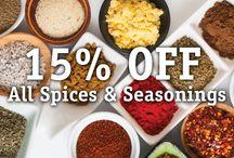 Savory Spice Sales
