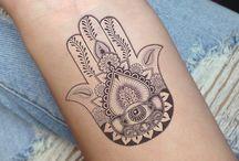 Hamsa tatoo