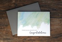 Print Therapy Stationery / A collection of our favorites we've dreamed up along the way.