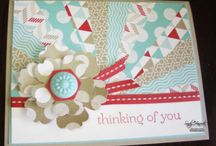 Stampin Up! Mixed Bunch/Blossom Punch/Bold Snowflake/So Very Happy