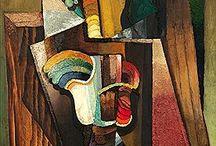 cubism - Antonín Procházka / Emil Filla, Bohumil Kubišta, Josef Čapek, Antonín Procházka, Václav Špála