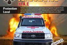 Armored or Bulletproof Ambulance UAE