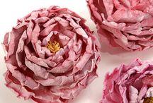 handmade flowers / by Christie Davis