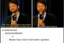 Misha collins is my god