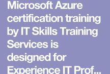 Cloud Computing / Microsoft Azure certification training by IT Skills Training Services is designed for Experience IT Professionals to get hands-on training on Azure. The course prepares the participants to implement the technology and pass the associated exam.
