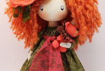 orange doll