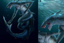 Spore shark / Cell haj haj man
