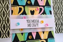Drink (coffee, tea) & food related cards / by Janet Carella