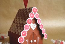 Gingerbread house / Paper