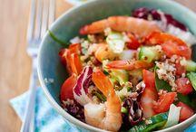 Recettes au quinoa / C'est la star des graines. En l'espace de quelques années, le quinoa a envahi nos rayons de supermarchés. Comment le cuisiner et avec quoi le marier ? Nos idées gourmandes à base de quinoa.