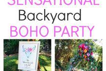 Boho party