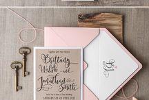 Lilah & Kyle wedding design