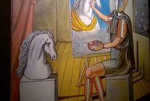 De Chirico a Campobasso / Mostra del pittore metafisico presso il Centro Molise Cultura di Campobasso