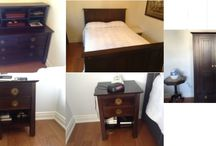 really nice 7 pcs bedroom set / (2100$)i have a really nice 7 pcs bedroom set in really great condition,does not include the matress,it is a queen size frame,i am in woodbridge area,ask me what else i have for sale,we have so much more,thank you