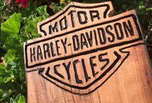 Destapador de pared harley davidson