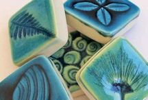 NZ Gifts: Wall Art Tiles and more / Stunning ceramic Art tiles