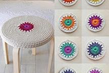 homewares in crochet/craft