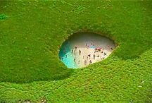 Oceans, Seas and Beaches